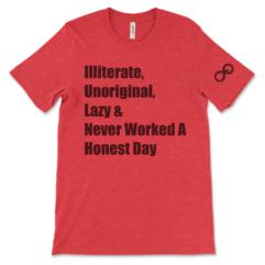 Illiterate - Red