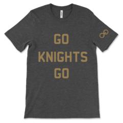 Vegas Golden Knights Go Knights Go - Black Shirt